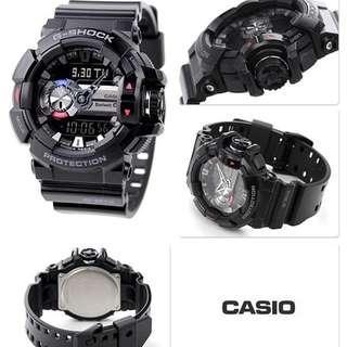 Jam Tangan Pria Casio G-SHOCK GBA-400-1ADR Bluetooth Rubber Original Murah
