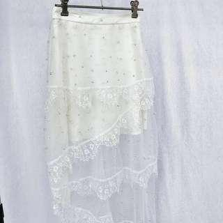 Special Occasion Lace Skirt