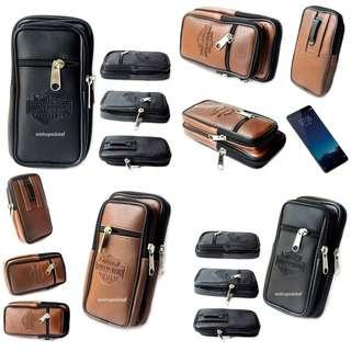 Dompet Sport Hp Pria Harley 3 res Emboss