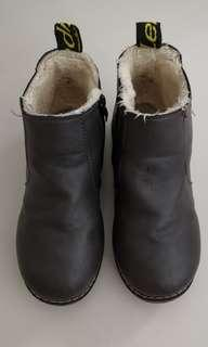 Kids Winter Leather Boots