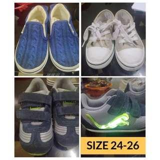 Branded shoes for boy (3-4 yrs old)