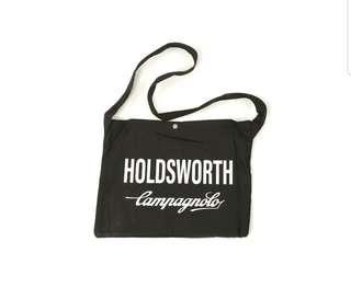 Holdsworth Campagnolo Black Canvas Musette