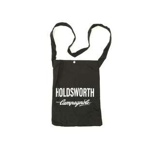 Holdsworth Campagnolo Black Travel Canvas Tote Bag