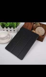 全新APPLE 蘋果 iPad mini 4 超薄黑色保護套 Smart Case 背殼 蠶絲紋休眠保護殼