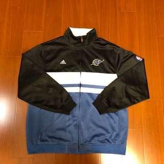 🚚 (Size 美版S) Adidas  NBA復古華盛頓巫師隊外套