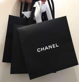 Chanel 紙袋 x 3
