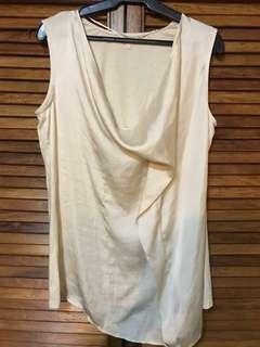 Esprit draped blouse