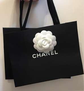 Chanel 紙袋 x 2
