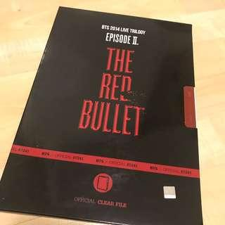 official bts the red bullet tour files