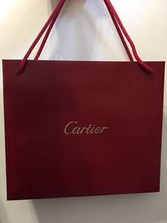 Cartier 紙袋