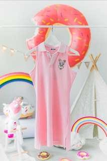🚚 Authentic Tokidoki Polo Dress ( Donutella Pink In Size S ) Original Retail Price - $59.90