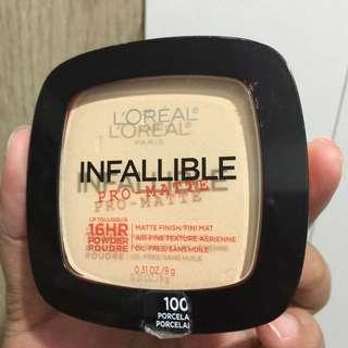 Loreal infallible matte powder