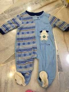 Baby sleep suit pyjamas