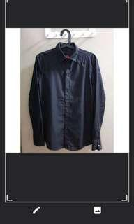 Mens black collared shirt #SnapEndGame
