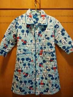 米奇 Mickey mouse 夾綿 保暖 晨褸 睡袍 110cm