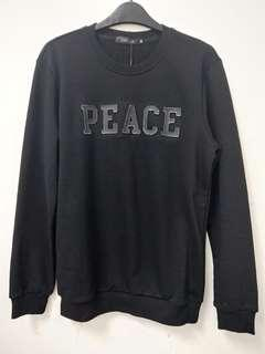 Peace Sweatshirt-black