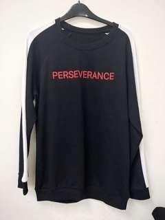 Perseverance jumper -black