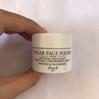 Fresh Sugar Face Polish from set