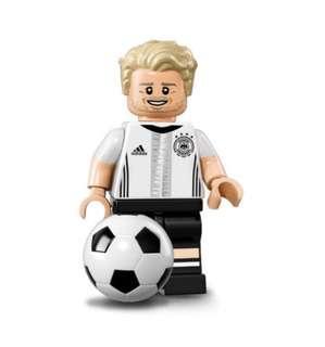 Lego Minifigures 71014德國足球隊- No.9 Andre Schurrle 舒賀爾尼