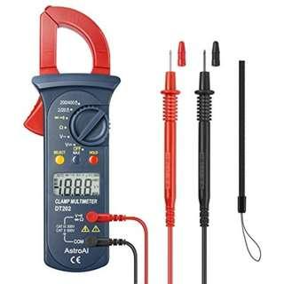 AstroAI Digital Clamp Meter, Multimeter Volt Meter with Auto Rangin