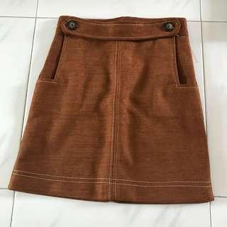 🚚 Brown Skirt