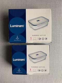 🚚 Luminarc Purebox Airtight storage
