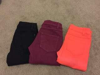 Size 6 jeans bundle !! All 3 for $10 !!