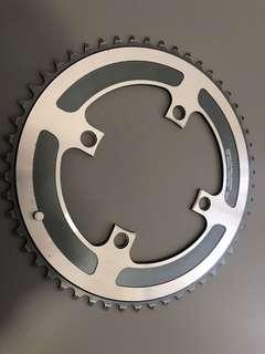 Shimano XTR Single downhill chainring 52T 4 bolt 110BCD