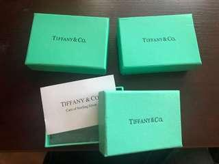 Authentic Tiffany jewellery box