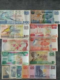 🚚 Old Singapore Notes