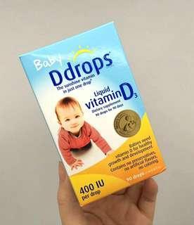 [現貨]Baby Ddrops維生素D滴劑