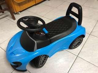 二手9成新兒童玩具車有音樂有燈,可放雜物