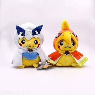 Pokemon - Pikachu in Lugia and Ho-oh Costume