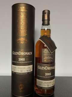 Glendronach 2005 12yo single cask