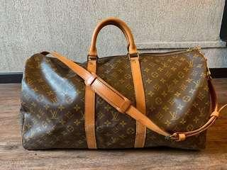 🚚 Louis Vuitton Monogram Keepal 55