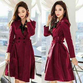 Long Coat Daisy dress