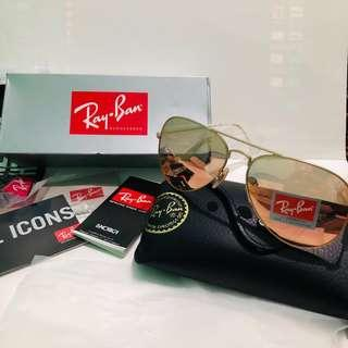 Ray-Ban Aviator Copper Flash RB3025