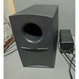 【零件機】Boston Acoustics Digital Theater 6000 (DT6000) 單一個主機與變壓器(無遙控器與衛星喇叭) 可以過電