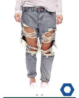 One Teaspoon 'saints' jeans