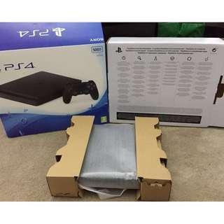 PS4 slim 跟 GTA V (有單有保養在19年1月購買) 香港行貨