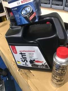 Eni engine oil 5w 40 with voltronic engine flash promotion !