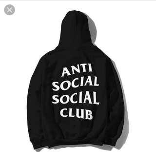 Antisocial social club mind games hoodie