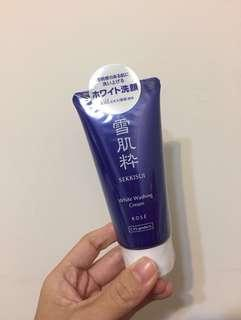 雪肌粹 洗面乳80g (全新)