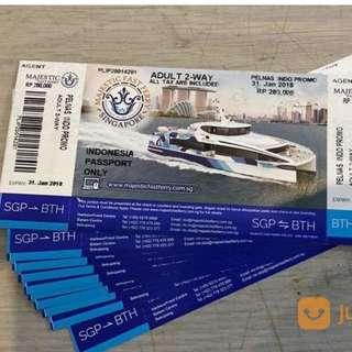 Majestic Ticket Indonesia Passport
