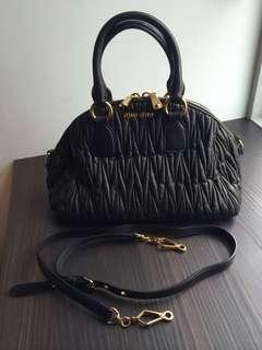 044e49640d7 Miu Miu Bag Bowler Handbag Matelasse
