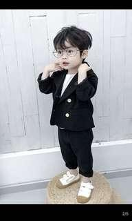 韓版男童帥西裝