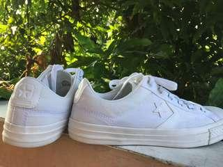 Converse One Star Low White