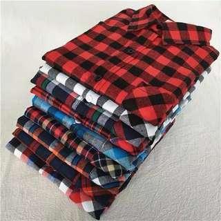 Flannel Shirt Oversized Flannel