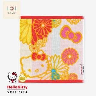 [日本製] Hello Kitty X SOU·SOU 小方巾