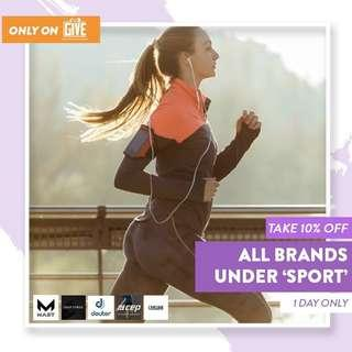 Deuter, CEP, Fitness training & More!! 10% Off!!!